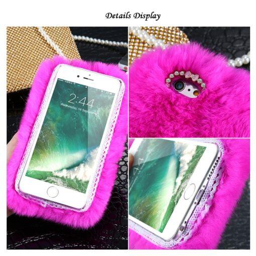 Rabbit Hair Phone Case