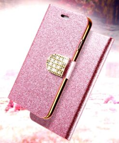 diamond glitter flip case for iphone 247x296 - Diamond Glitter Flip Case for iPhone