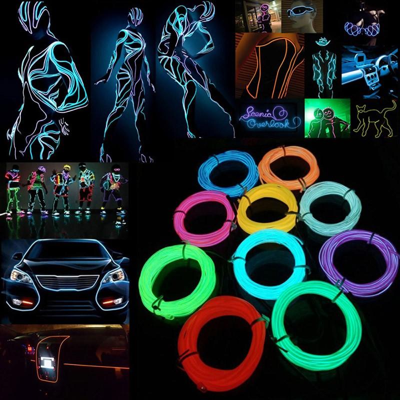 Wild Wire Neon Light – 3m – Spicy Deals