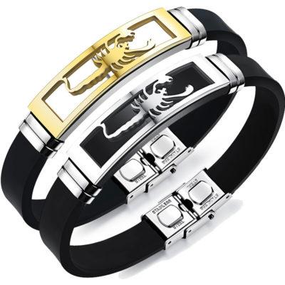 Scorpion Zodiac Bracelet
